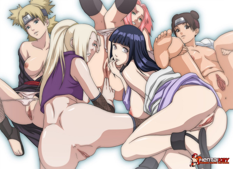 Naruto and the girls porn